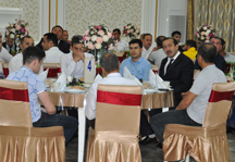 Iftar meal was given in Cahan Holding